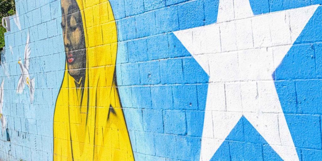 东城市高地的壁画